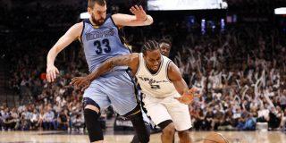 Un Kawhi imperial domina el segundo duelo entre los Gasol: Grizzlies 82 -Spurs 96