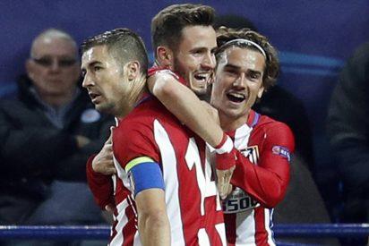 Los del 'Cholo' Simeone pasan de cabeza a semifinales: Leicester City 1 - Atlético de Madrid 1