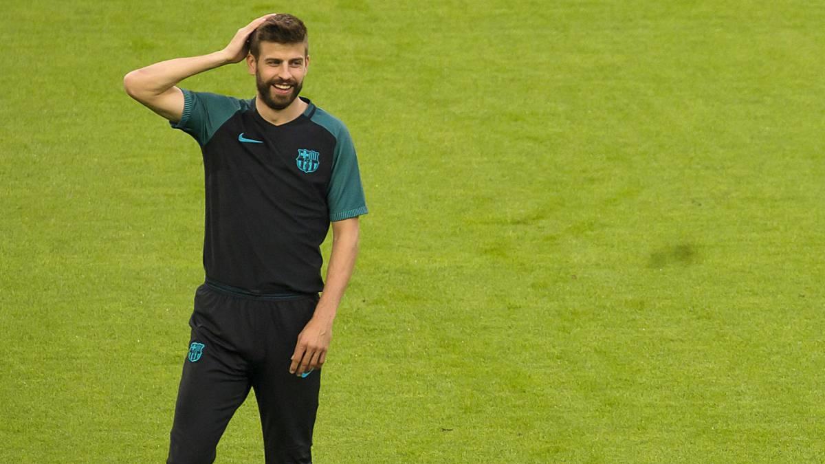 """Gerard Piqué tuitea """"..."""" tras el segundo gol del Real Madrid y se lleva un zasca"""