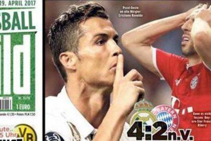 La Prensa de Alemania sobre el Real Madrid 4 -Bayern 2: 'Maldito Cristiano'