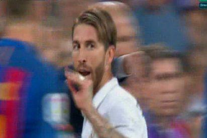 """Sergio Ramos a Gerard Piqué, tras su exagerada e injusta roja: """"Ahora hablas..."""""""