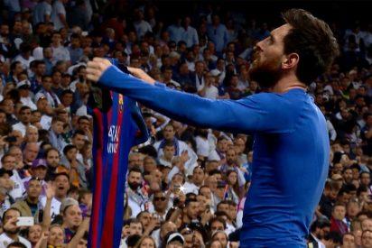Messi decide que todavía hay Liga: Real Madrid 2 - Barcelona 3