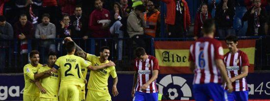 El Atleti del Cholo se complica la vida: Atlético de Madrid 0 - Villarreal 1
