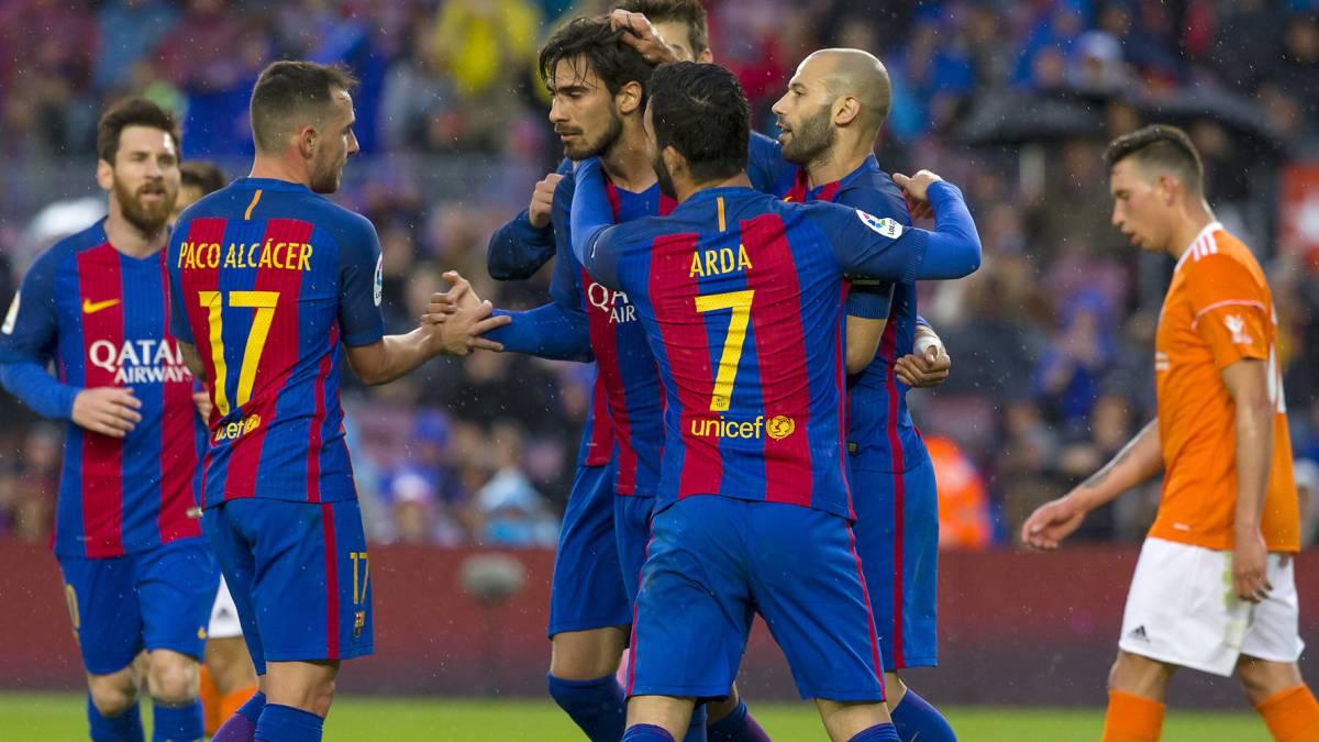 El Barça se pega un festín ante el ya descendido Osasuna (7-1)