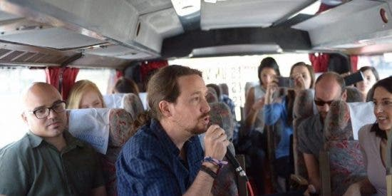 El acojonante sueldo público que Pablo Iglesias le ha puesto al 'chófer' del Tramabús