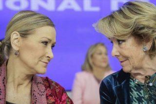 Génova despide con absoluta frialdad a Aguirre mientras un malvado tuit se ensaña con ella