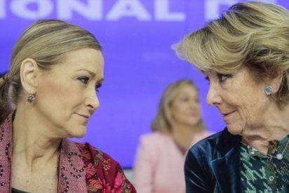 La dirección del PP en la sede de Génova deja claro a Esperanza Aguirre que no cuenta con su respaldo