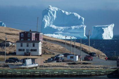 El impresionante iceberg que apareció sin avisar en las costas de Canadá