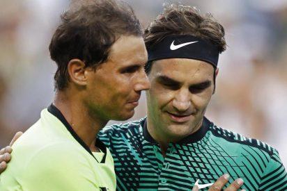 """Roger Federer: """"Rafa Nadal es una montaña a escalar"""""""