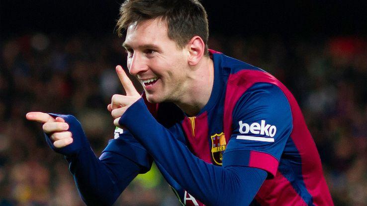 Leo Messi se marcha en el Pichichi a ritmo de doblete