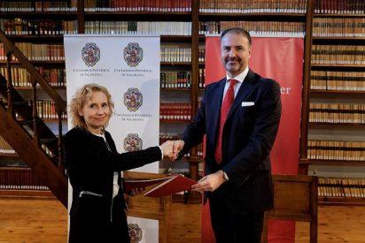 La UPSA renueva el convenio de colaboración con Banco Santander