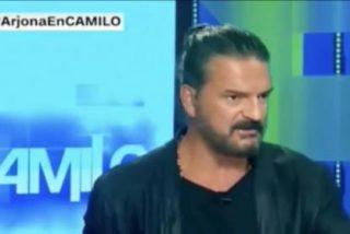 El tremendo cabreo de Ricardo Arjona en una entrevista en la CNN
