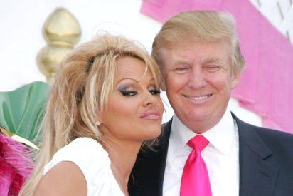 Pamela Anderson le 'propone un trío' a Donald Trump