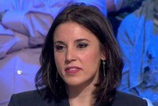 """Irene Montero, otra tonta a las tres: """"El delito de enaltecimiento de terrorismo solo sirve para romper la vida a Cassandra"""""""