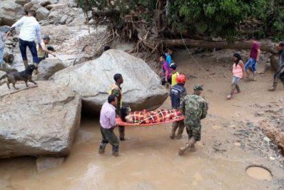 Una terrible avalancha acaba con la vida de al menos 250 personas y deja 400 heridos en Colombia