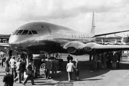 El primer avión comercial de pasajeros a reacción