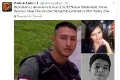 Ponemos cara a las 3 personas que murieron en las protestas de Venezuela a favor y en contra de Maduro