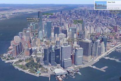 Así es el nuevo Google Earth, con imágenes de la BBC y la NASA