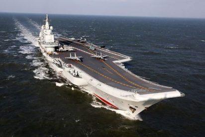 Así es el primer portaaviones fabricado en China; El 'Shandong CV 17'