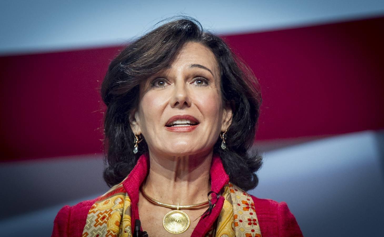 Ana Botín: Santander gana 1.867 millones hasta marzo de 2017