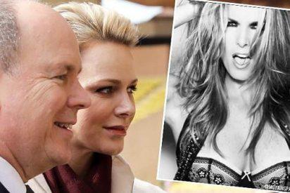Los escarceos sexuales de Alberto de Mónaco con una bella presentadora mexicana