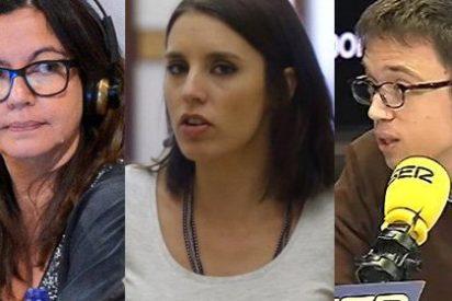 Esperpento totalitario de Irene Montero: se planta en la puerta de la SER exigiendo participar en una tertulia sin haber sido invitada