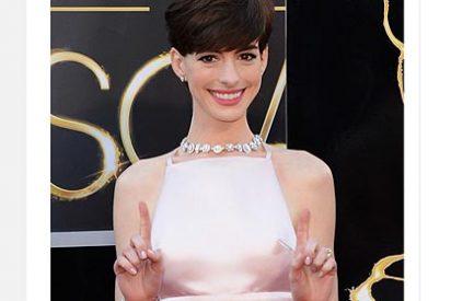 Anne Hathaway: ¡cómo estar elegante con un vestido de 15€!