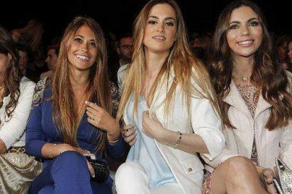 La novia de Messi, Antonella Rocuzzo escoge su vestido de novia aconsejada por las Wags del Barça
