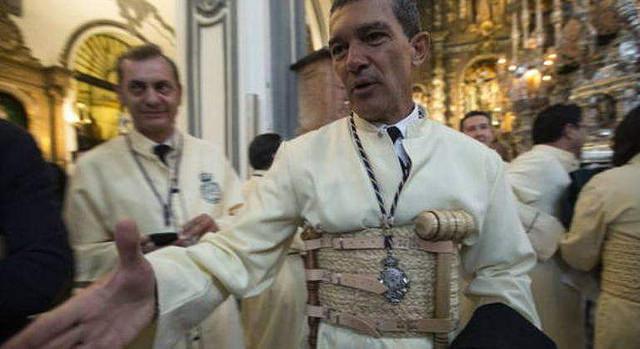 Antonio Banderas, un divorciado cofrade en la Semana Santa de Málaga