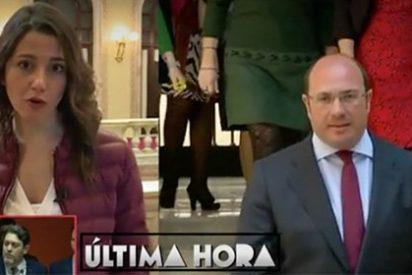 Arrimadas niega el tripartito desmintiendo la excusa de Pedro Antonio Sánchez