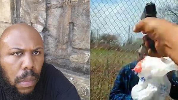El calvo que asesina a un anciano al azar en la calle y lo transmite por Facebook Live