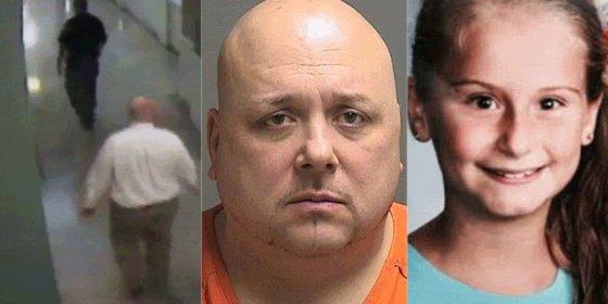 El vídeo del orondo violador y asesino de menores que se suicida en pleno juzgado