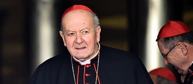 Pésame de Francisco por el cardenal Nicora