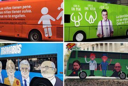 ¿Cuál es el autobús 'político' más lamentable?