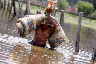 Las devastadoras consecuencias de la inundación en Colombia a vista de dron