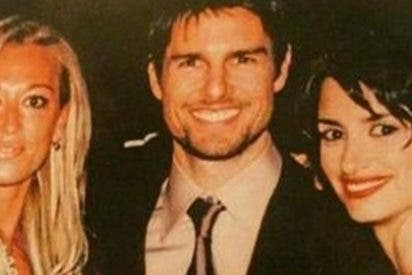 La foto del ridículo supino de Belén Esteban con Tom Cruise