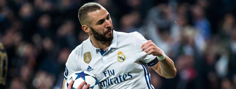 Benzema pone cinco ofertas sobre la mesa de Florentino Pérez para salir del Real Madrid