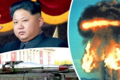 El escalofriante vídeo del 'ataque' de Corea del Norte contra EEUU con un misil balístico