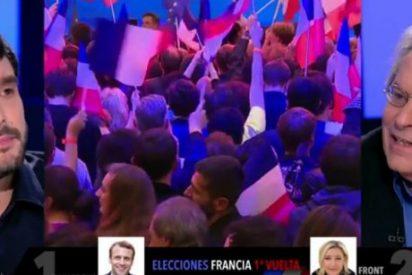 """Javier Nart le mete una somanta de zascas a un 'hijo de la casta' podemita: """"¡Hablas igual que Le Pen!"""""""