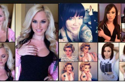 Actrices porno con y sin maquillaje: el antes y el después