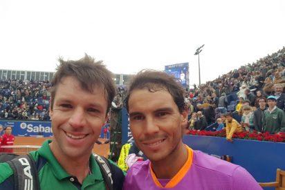 El detalle de Horacio Zeballos con Rafa Nadal tras perder co el campeón español