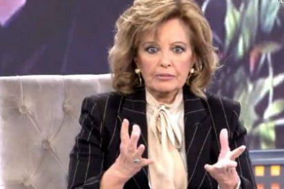María Teresa Campos está disgustadísima por la impertinente 'rajada' de Gloria Camila