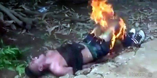 El sicario a quien queman las pelotas tras dar un impropio gatillazo