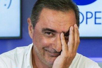 """Herrera ensarta a los """"idiotas"""" que exigen erradicar la leyenda de San Jorge y el dragón"""