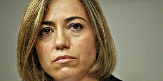 La marranada de un socialista anónimo a Carme Chacón dinamita el luto y la tregua