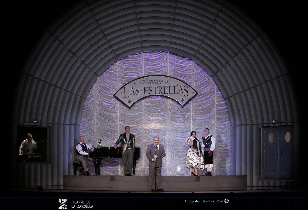 El Teatro de la Zarzuela en tareas de reposición