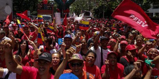 Las feroces hordas chavistas y su ataque contra el Cardenal de Caracas en plena misa