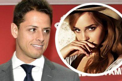 """Chicharito se derrite por la bella Emma Watson: """"Los ángeles existen"""""""