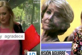Ana Rosa protesta por la conducta rácana del PP de Madrid con el adiós de Aguirre