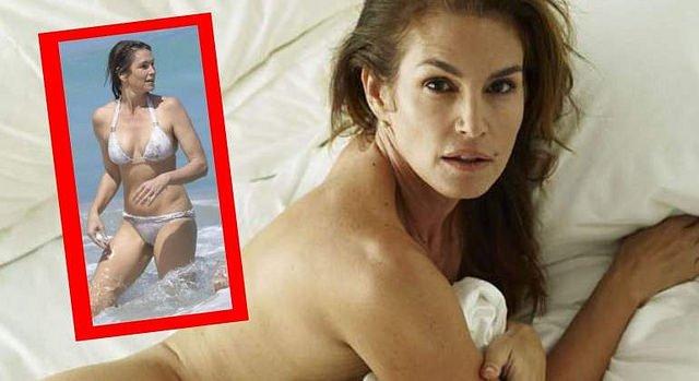 Cindy Crawford luce tipazo a los 51 años en biquini